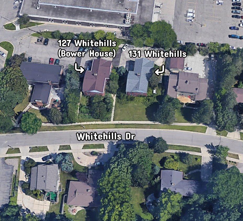 Aerial View of 127 & 131 Whitehills